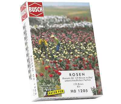 Busch 1205 Pack of 120 Roses OO/HO Gauge Kit