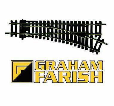 Graham Farish 379-461 Right Hand Standard Point N Gauge Track