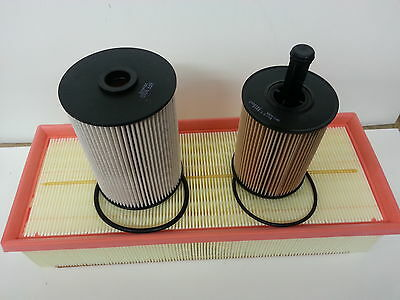 Volkswagen VW Jetta1.9 TDi Service Kit Oil Air Fuel Filter 2006-Onwards OPT2