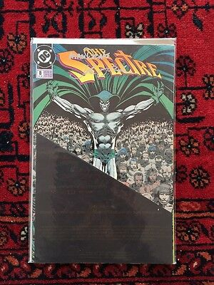 THE SPECTRE #8 Signed by John Ostrander Tom Mandrake 633/1100 VF/NM