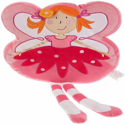 Girls Pink Fairy Shaped Cushion