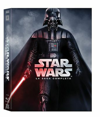 Cofanetto Bluray 6 Film Star Wars La Saga Completa Nuovo Sigillato 1 2 3 4 5 New