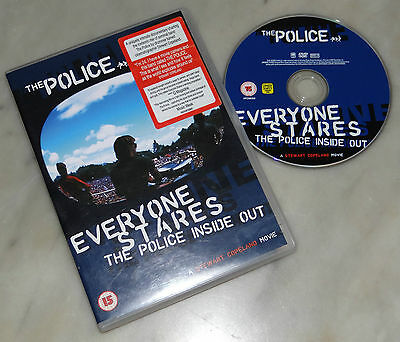 Everyone Stares - The Police inside out (DVD; 2006) *BUONO*.
