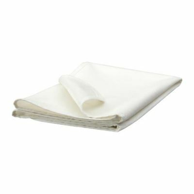 IKEA LEN Mattress protector for baby cot or toddler bed, white