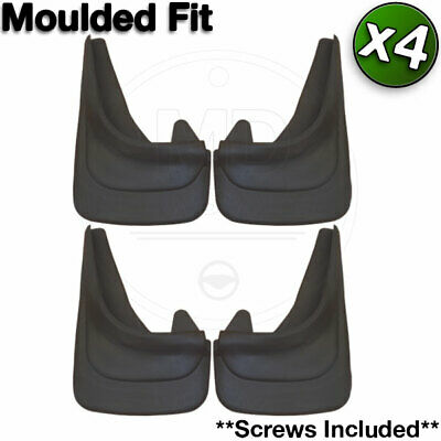 KIA Custom Contour Mud Flaps MOULDED Car MUDFLAPS Front and Rear Set