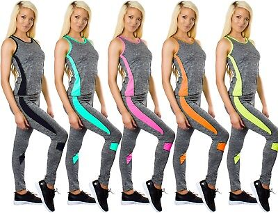 Ladies Yoga Gym Sports Fitness Running Stretch Leggings Trousers Exercise Pants