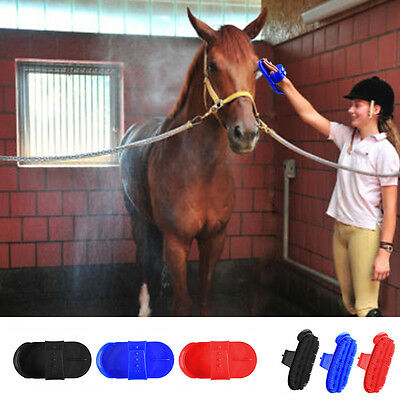 Body Brush Grooming Shires Plastic CURRY COMB Remove Mud Dirt Horse Coats Brush