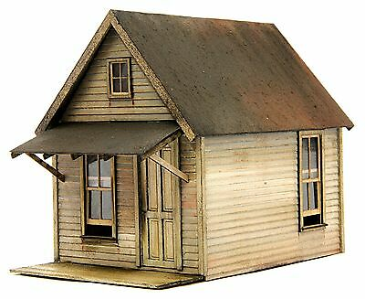 O SCALE On3/On30 BANTA MODEL WORKS #6078 Miners Cabin, Loggers Cabin, Motel Row