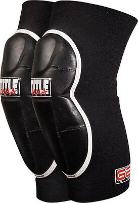 Title MMA Gel Striking Knee Guards Sparring Pads