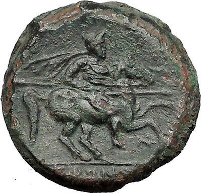 Syracuse in Sicily 240BC King Hieron II Horseman Large Ancient Greek Coin i55487
