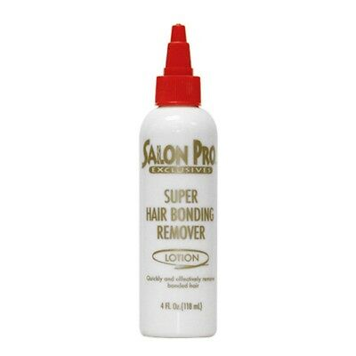 Salon Pro Exclusive Super Hair Bond Remover Lotion For Extensions/Weaves 4oz