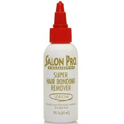 2 X Salon Pro Exclusive Super Hair Bond Remover Lotion For Extensions/Weaves 2oz
