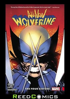 ALL NEW WOLVERINE VOLUME 1 FOUR SISTERS GRAPHIC NOVEL Paperback Collects #1-6