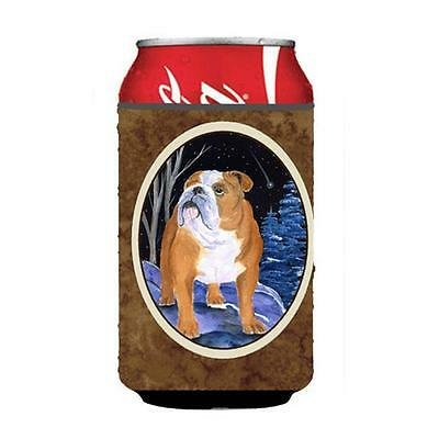 Carolines Treasures Starry Night English Bulldog Can Or bottle sleeve Hugger