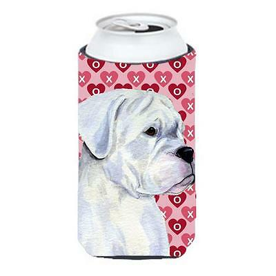 Boxer Hearts Love And Valentines Day Portrait Tall Boy bottle sleeve Hugger • AUD 47.47