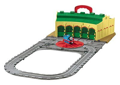 Fisher Price - Thomas & Friends Take n Play - Tidmouth Shed Playset - New