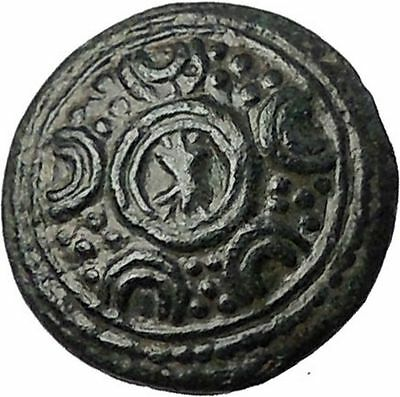 ALEXANDER III the GREAT 325BC Shield of Macedonia Helmet Greek Coin i55489