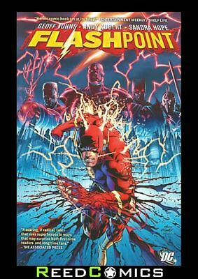 FLASHPOINT GRAPHIC NOVEL New Paperback Collects 5 Part Series by Geoff Johns
