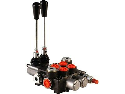 2 spool hydraulic control valve 11gpm, double acting cylinder + FLOATING spool