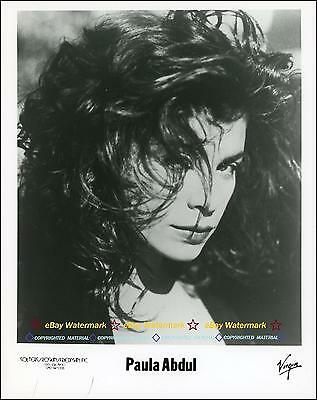 Paula Abdul - 1980s Virgin Records 8x10 Publicity Photo!