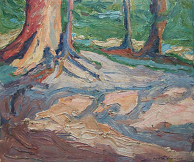 ROSELIN HAMMOND AOCA - Canadian Impressionist Oil Painting - Early 20th Century