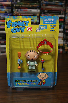"As Seen On TV Family Guy Bedtime Stewie 6"" Scale Figure"