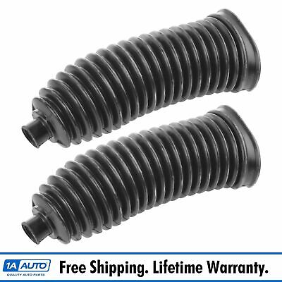 Steering Rack & Pinion Bellow Boot Driver Passenger Side Pair for Ford BMW Audi