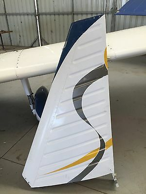 Piper PA28 Vertical Fin Assembly P/N 66975-00