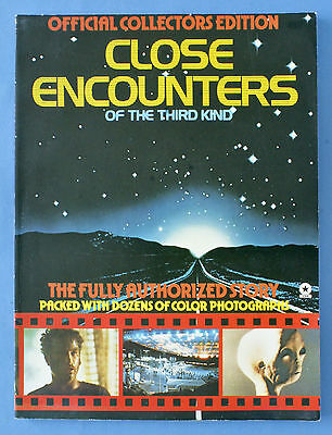 Close Encounters Of The Third Kind Official Collectors Edition Souvenir Book VG