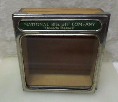 Vintage Advertising National Biscuit Company Uneeda Bakers DIsplay Box A4522