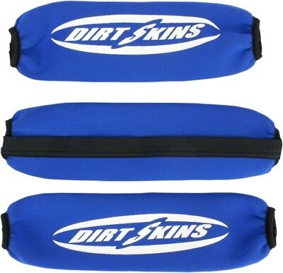 Schampa Blue Front and Rear Shock Covers DS03-2 0431-0117