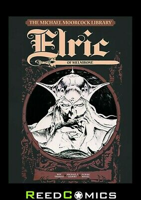 MOORCOCK VOLUME 1 ELRIC OF MELNIBONE LIBRARY EDITION HARDCOVER New Hardback