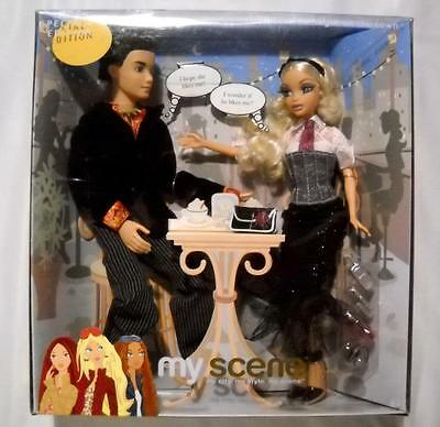 Night On The Town My Scene Barbie River Gift Set NRFB 2 Dolls Rooted Lashes