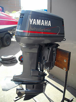 Yamaha 40hp 2 stroke outboard motor mid 80 39 s aud for Yamaha 115 outboard 2 stroke
