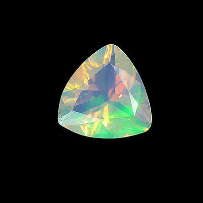 RADIANT GLOWING MULTICOLOR GEM QUALITY FIRE OPAL – ETHIOPIA 1.19 cts !! 15738