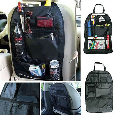 Car Auto Care Seat Protector Cover Storage Bag Pouch For Children Kick Mat Mud