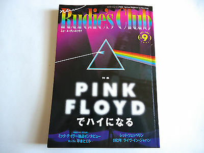 PINK FLOYD New Rudie's Club JAPAN MAGAZINE 1995 Mick Taylor Led Zeppelin HTF