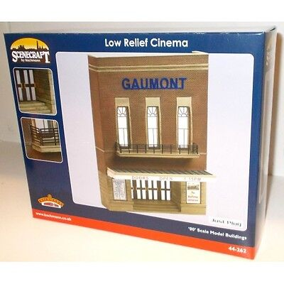 BACHMANN SCENECRAFT 44-262 1:76 OO SCALE Low Relief Cinema