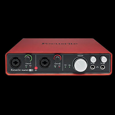 Focusrite Scarlett 6i6 USB Audio Interface First Generation