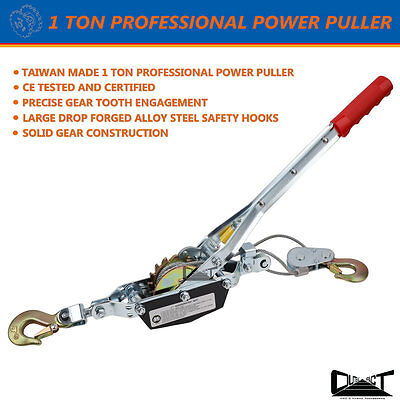 1 Ton Taiwan Professional Made Power Puller Winch Hand Puller Hoist 10028