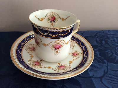 ���� Williamson and Sons Coffee Tea Cup And Saucer Pattern TUNIS And Numbered