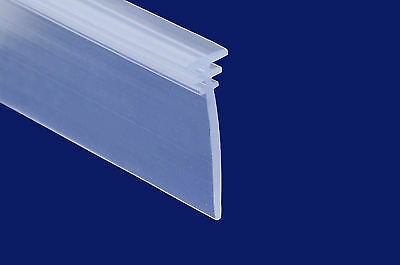 Universal T Section Rubber Channel Seal for Bath Screens & Shower Doors 27mm Fin