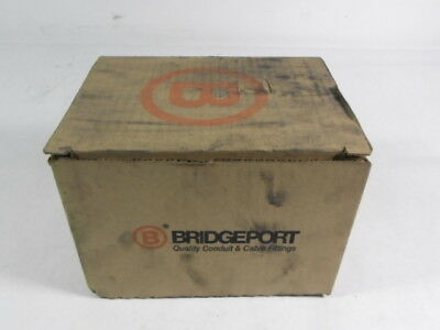 """Bridgeport T-42CGC Conduit Body And Cover With Gasket 3/4"""" 10-Pack ! NEW !"""