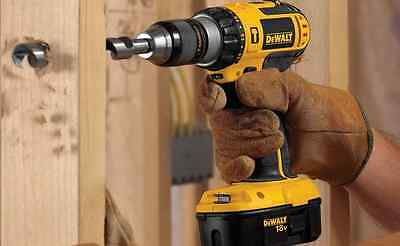 18V 18-Volt Ni-Cad 1/2 in Cordless Compact Hammer Drill Kit - 2-Batteries