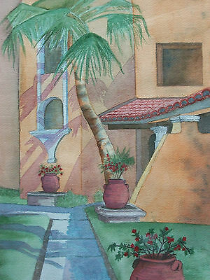B. MCKAY - 'La Jolla' - Framed Watercolor Painting - Signed & Dated - Circa 2000