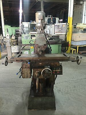 DAH LIH VERTICAL AND HORIZONAL Milling Machine 30 TAPER POWER FEED