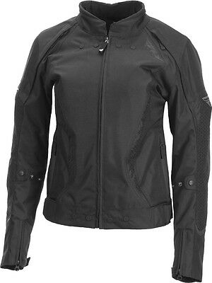 Fly Street Ladies Butane Jacket Black Xs