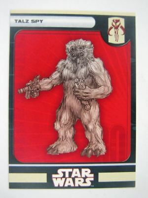 Star Wars Miniature Spare Cards TALZ SPY # 11A94