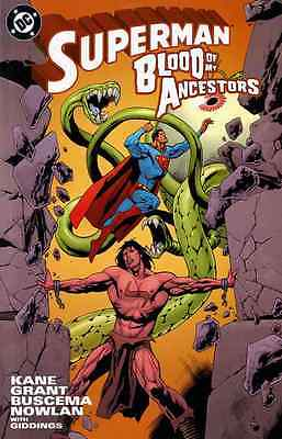 Superman Blood Of My Ancestors Near Mint Tpb 2003