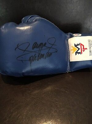 """Manny """"Pacman"""" Pacquiao signed Boxing Glove PSA DNA"""